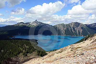 Black Tusk Summit And Garibaldi Lake