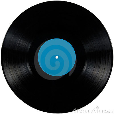 Free Black Vinyl Record Lp Album Disc Isolated Disk Royalty Free Stock Photography - 19094627