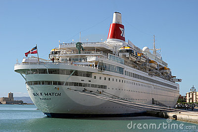 Black Watch cruise ship Editorial Image