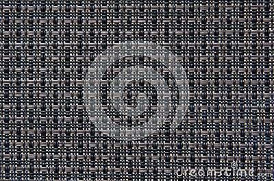 Black weave pattern