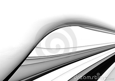 Black & White abstract background