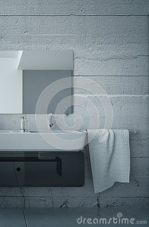 black and white bathroom furniture with concrete wall black and white bathroom furniture