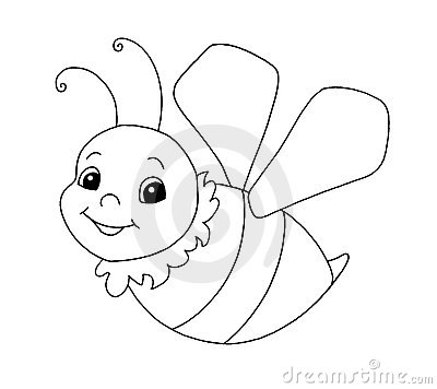 Black and white - Bee