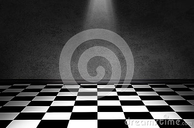 Black And White Check Floor Stock Images Image 37436044