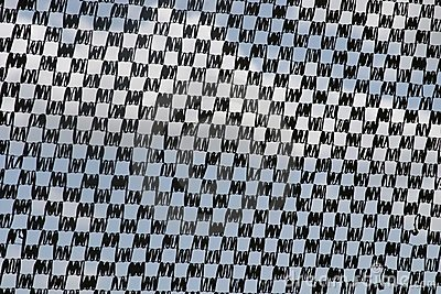 Why is the black and white checkered pattern associated with Ska