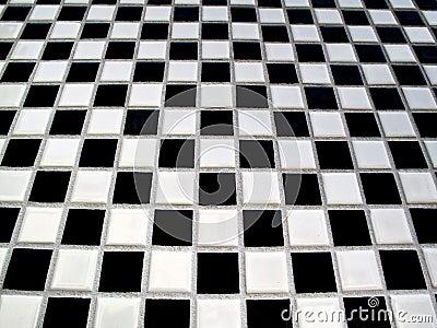 Black and white checkerboard