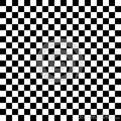 Black And White Checkered Abstract Background Stock Vector
