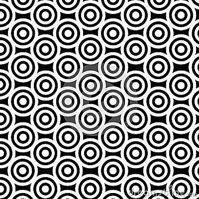 Black-white circles