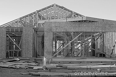 Black and White Construction
