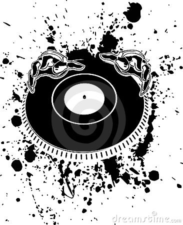 Disc Jockey In The Ring Stock Photos - Image: 29227183