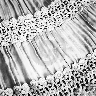 Black-and-white fabric