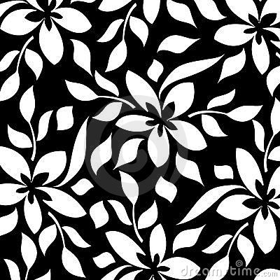 black and white flowers wallpaper. BLACK AND WHITE FLORAL