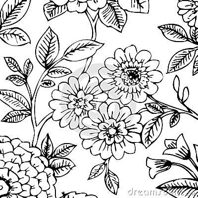 wallpaper black and white. BLACK/WHITE FLORAL WALLPAPER