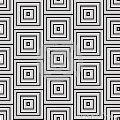 Simple Square Geometric Patterns