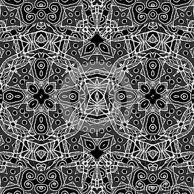 Black And White Geometric Tribal Pattern Stock Illustration Image 59227964