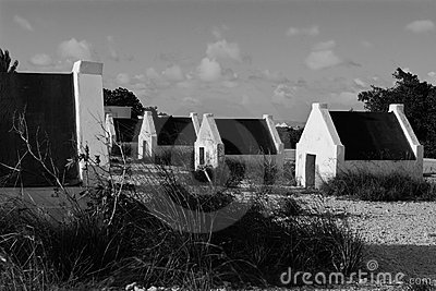 Black and White Huts