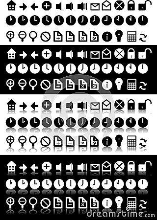 Black & White Icons