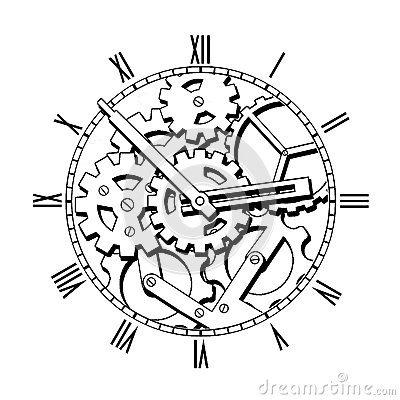 How To Replace Drum Brakes moreover Stock Illustration Ste unk Font Letter Made Different Technical Pieces Pipes Blocks Screws Etc Stylized As Engraving Numbers Punctuation Image42418344 besides Stock Photography Black White Mechanical Clock Ste unk Image39566772 in addition Howling Wolf Tattoo 15423376 together with Gears Clock Tattoo Design. on gear design drawing