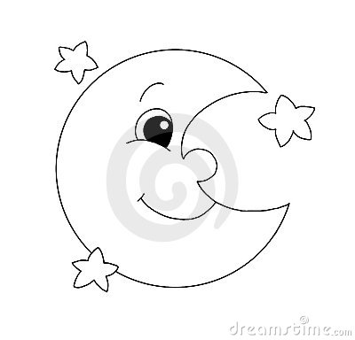 Royalty Free Stock Photos Black White Moon Image12728998 on design management