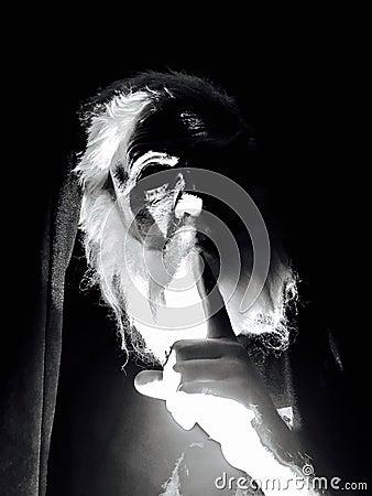 Black And White Portrait Of Old Man Free Public Domain Cc0 Image