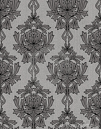 Black and white renaissance background