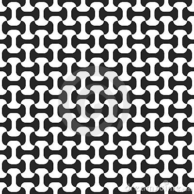 Black-and-white seamless pattern