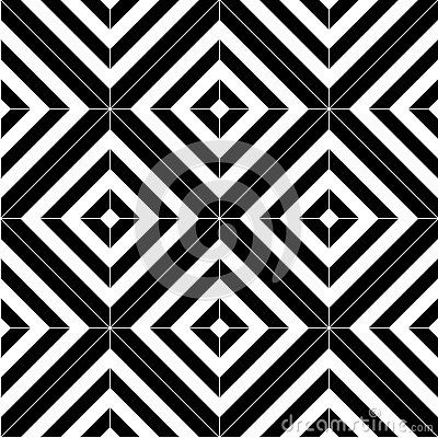 Black And White Seamless Pattern Tiles Stock Vector ...