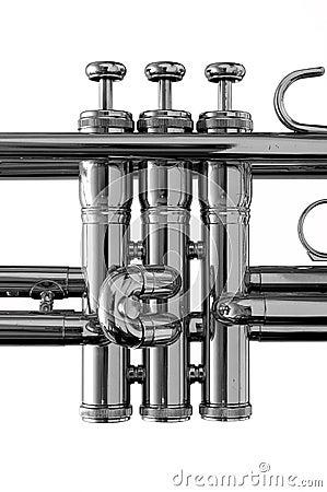 Black & White Trumpet