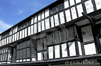 Black and white tudor building, Shrewsbury