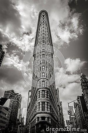 Black Amp White Vertical New York The Flatiron Building
