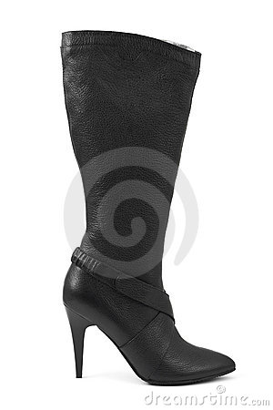 Black woman boot
