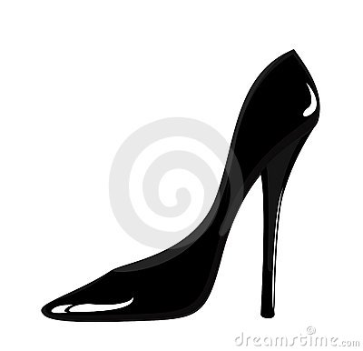 Black woman shoes