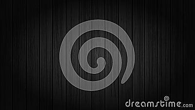 Black Wood Background, Wallpaper, Backdrop, Backgrounds Vector Illustration