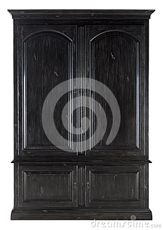 Free Black Wooden Cabinet Stock Photography - 30329222