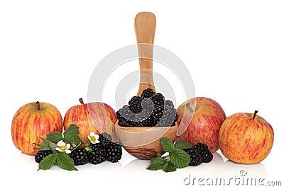 Blackberry and Apple Fruit