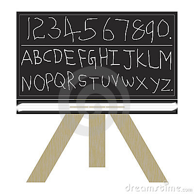 blackboard 123 abc