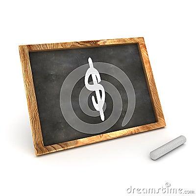 Blackboard Dollar