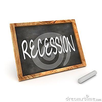 Blackboard Recession