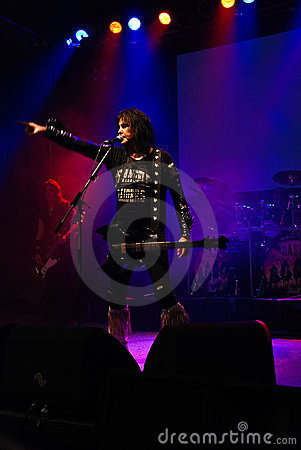 Blackie Lawless Editorial Stock Image