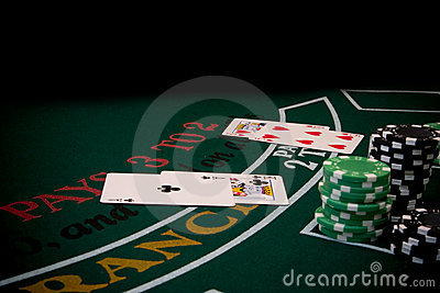 Blackjack 5 Stock Photo