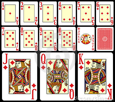 Blackjack Playing Cards [2]