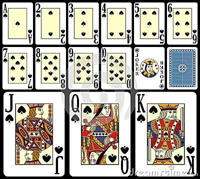 Free Blackjack Playing Cards [4] Stock Image - 7772271