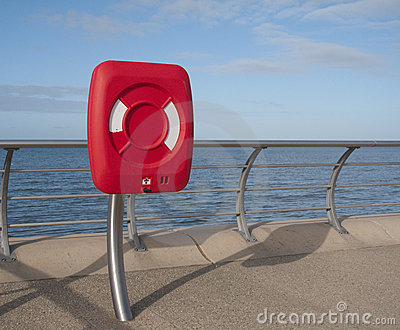 Blackpool coast - lifesaver