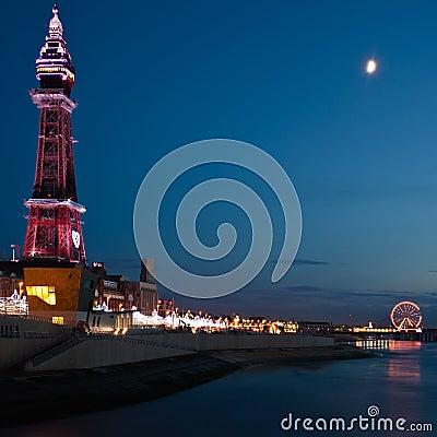 Free Blackpool Tower Royalty Free Stock Photos - 22024868