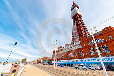 Blackpool tower Editorial Stock Image