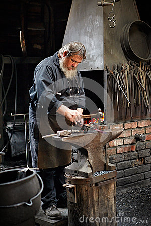 Blacksmith Editorial Photo