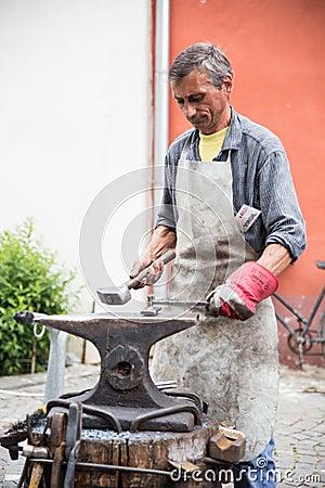 Blacksmith Zdjęcie Editorial