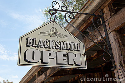 Blacksmith Sign