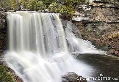 Blackwater Falls in West Virginia