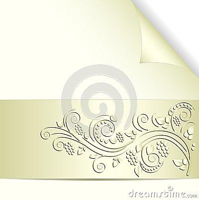 Bladożółty tło